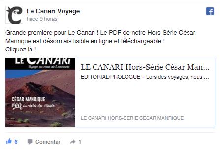 Facebook Le Canari